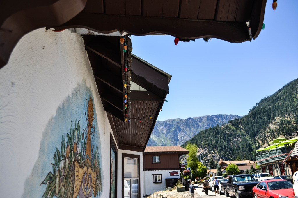 Leavenworth, Bavarian Inspired Town, Washington State
