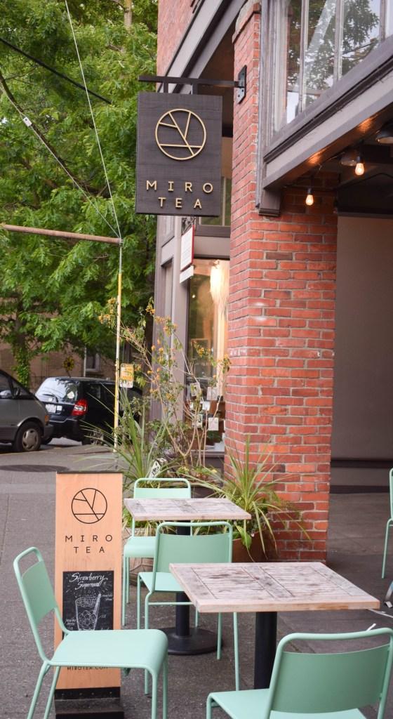 Miro Tea, Ballard, Seattle