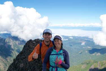 At the summit of Mt. Angeles