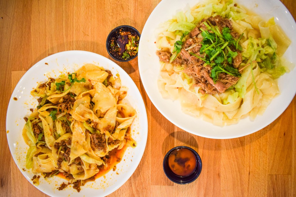 Xian Noodles, University District, Seattle. Chinese food and hand-pulled noodles!
