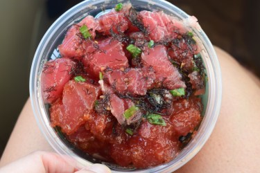 Foodland Farms Poke, Oahu, Hawaii