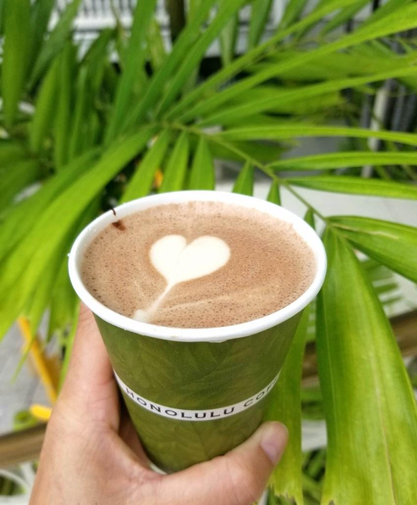 Chai from Honolulu Coffee Company, Waikiki, Oahu, Hawaii