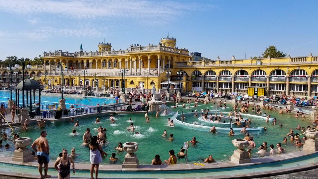 Szechenyi Spa & Baths, Budapest, Hungary