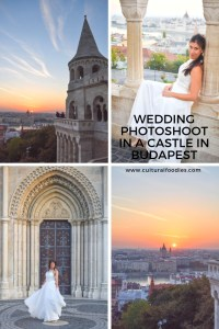 Wedding Photoshoot in a Castle in Budapest
