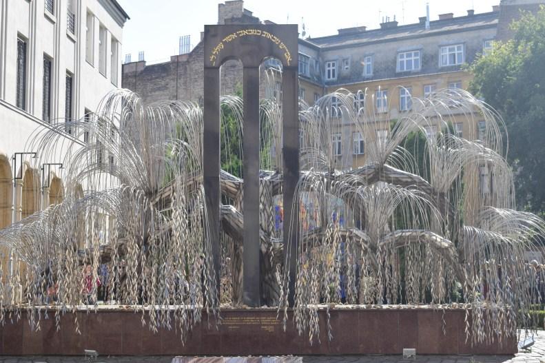 The Tree of Life - Jewish Quarter, Budapest, Hungary