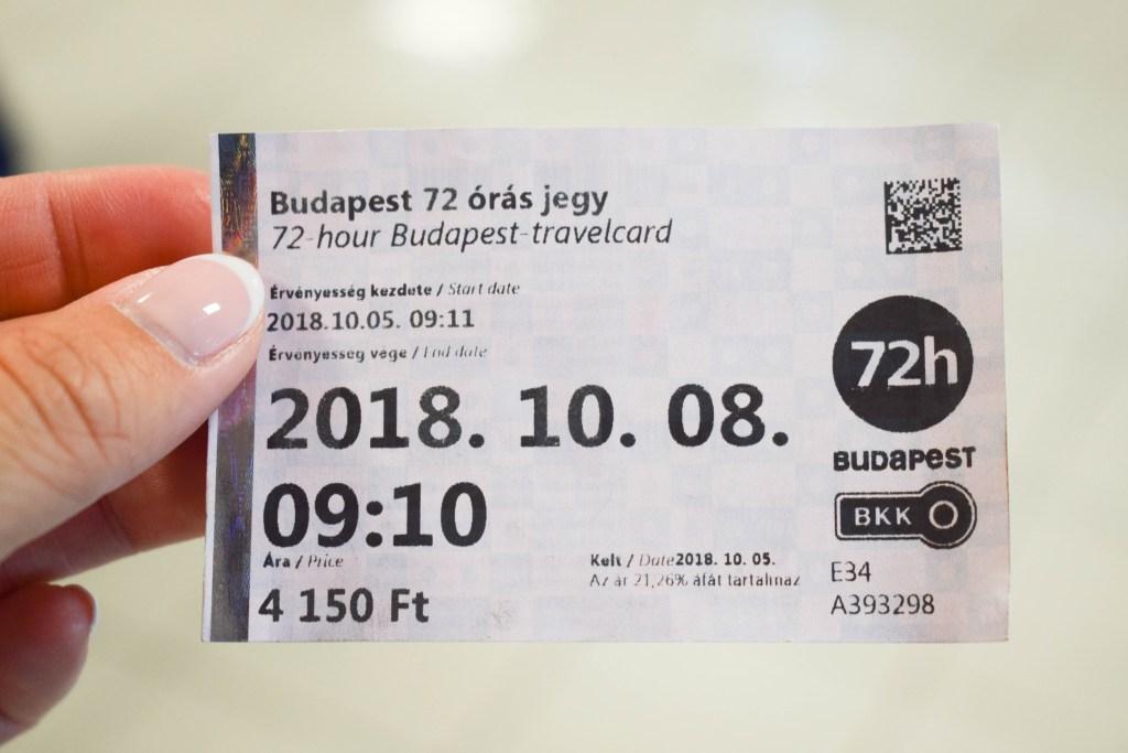Budapest Transportation Pass