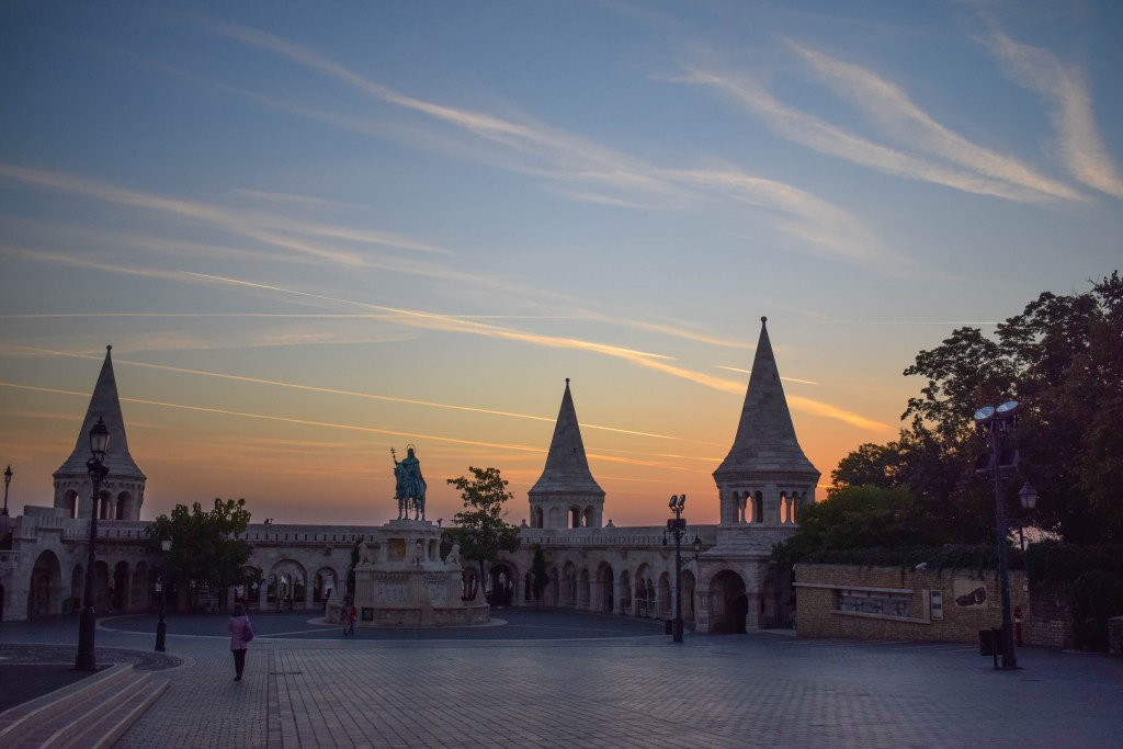 Sunrise at Fisherman's Bastion, Budapest, Hungary