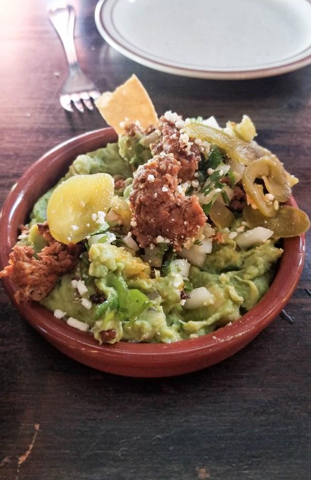 Chorizo guacamole