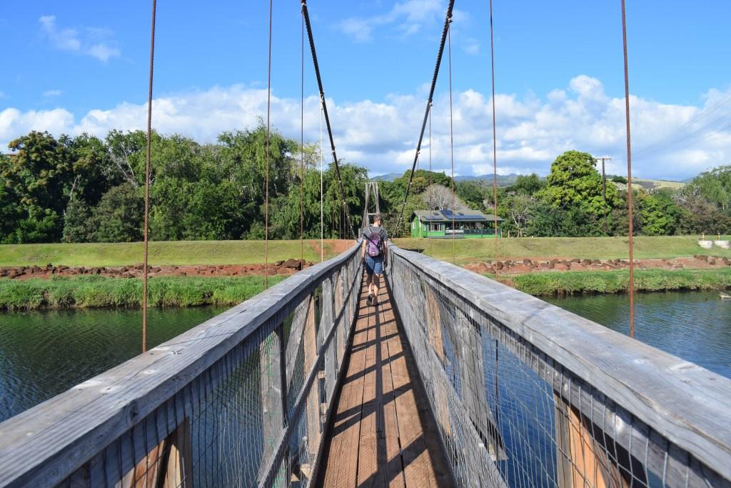 Hanapepe Swinging Bridge, Kauai