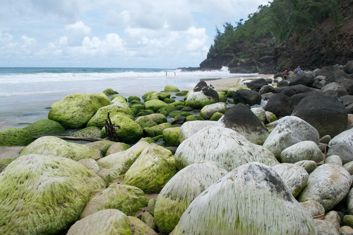 Hanakapi'ai Beach, Kalalau Trail, Kauai
