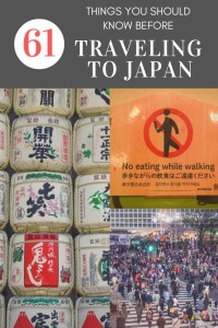 61 Things You Should Know Before Traveling to Japan