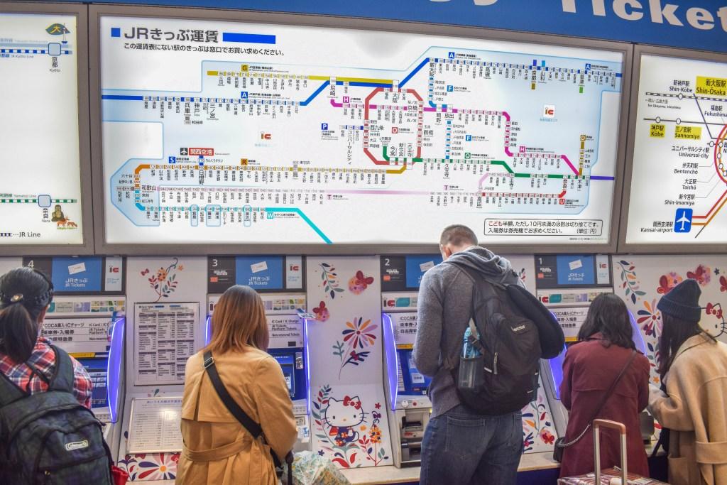 Japan Transit map