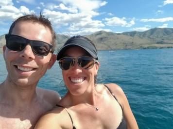 Lake Chelan Selfie
