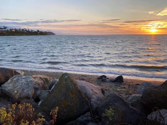 Dungeness Sunset