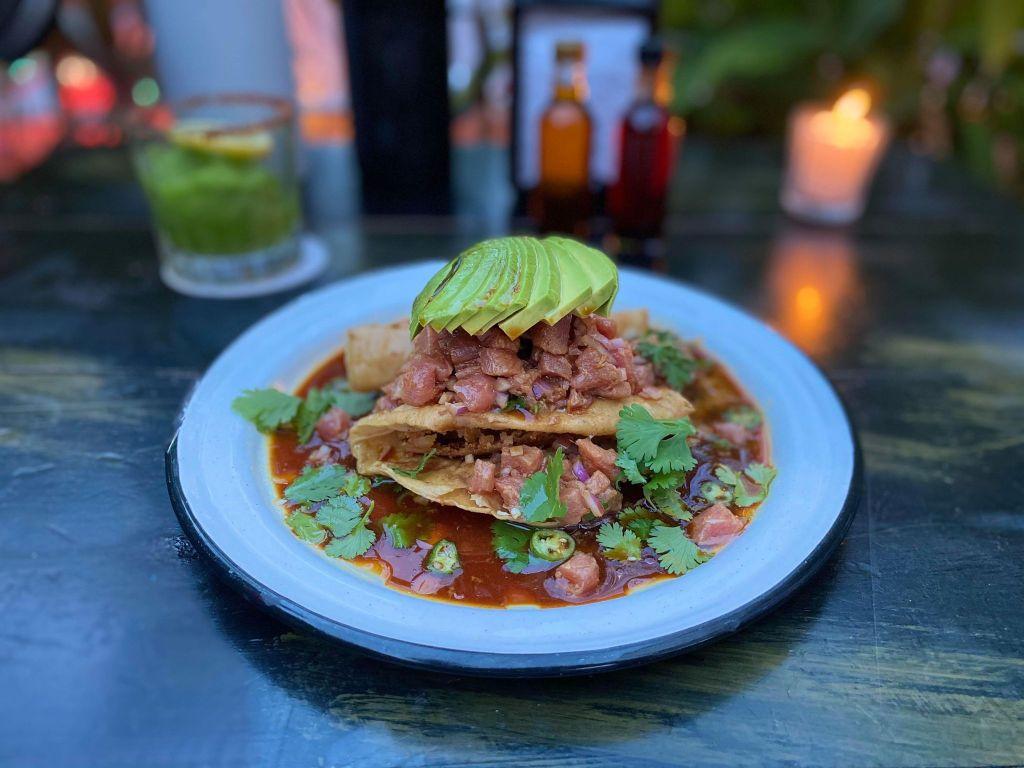 Tuna Ceviche, La Negra, Bucerias, Mexico