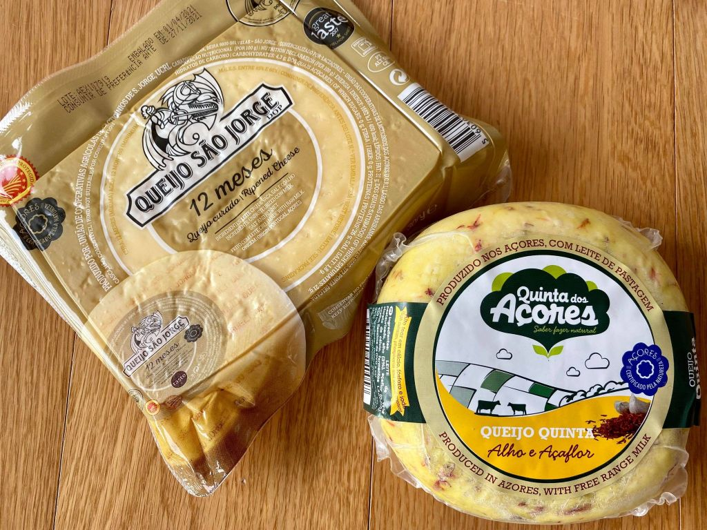Azores Islands Cheese
