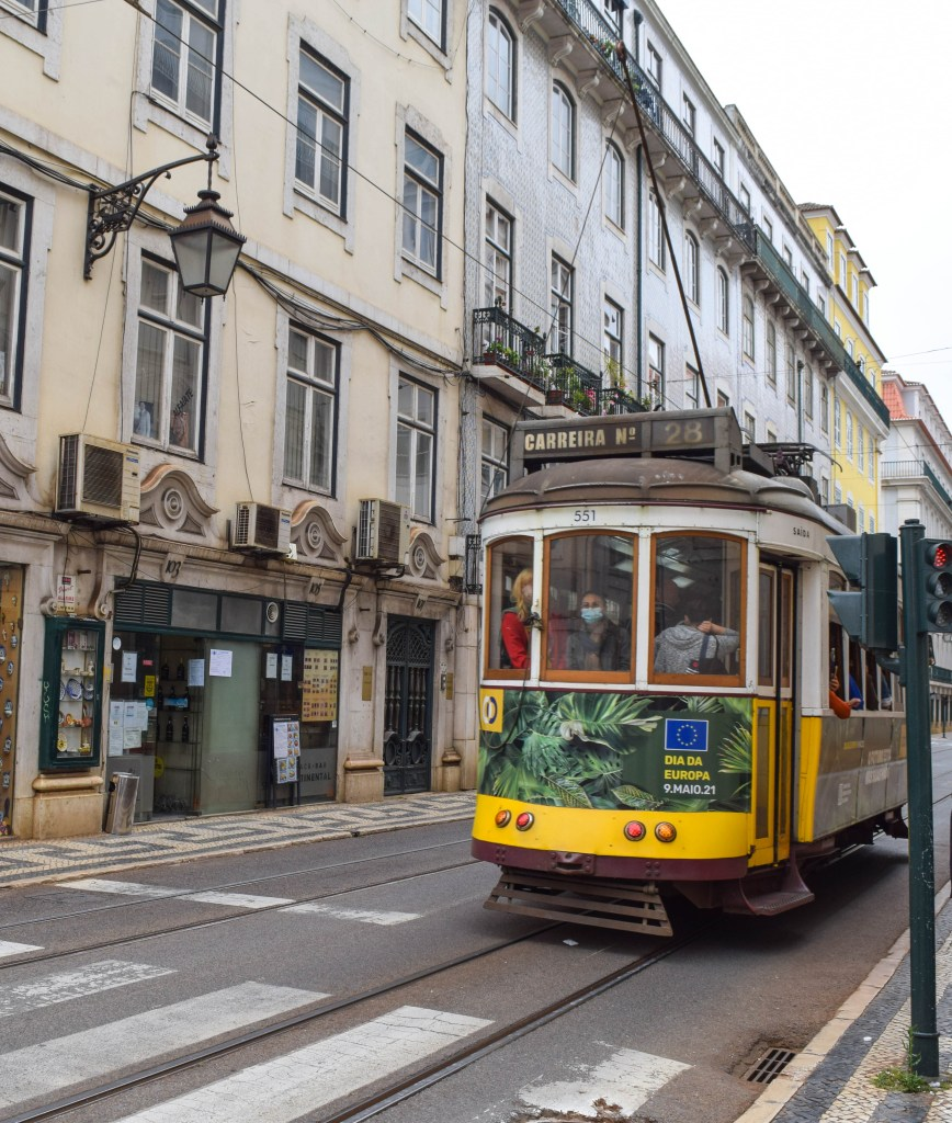 Lisbon Tram 28, Portugal