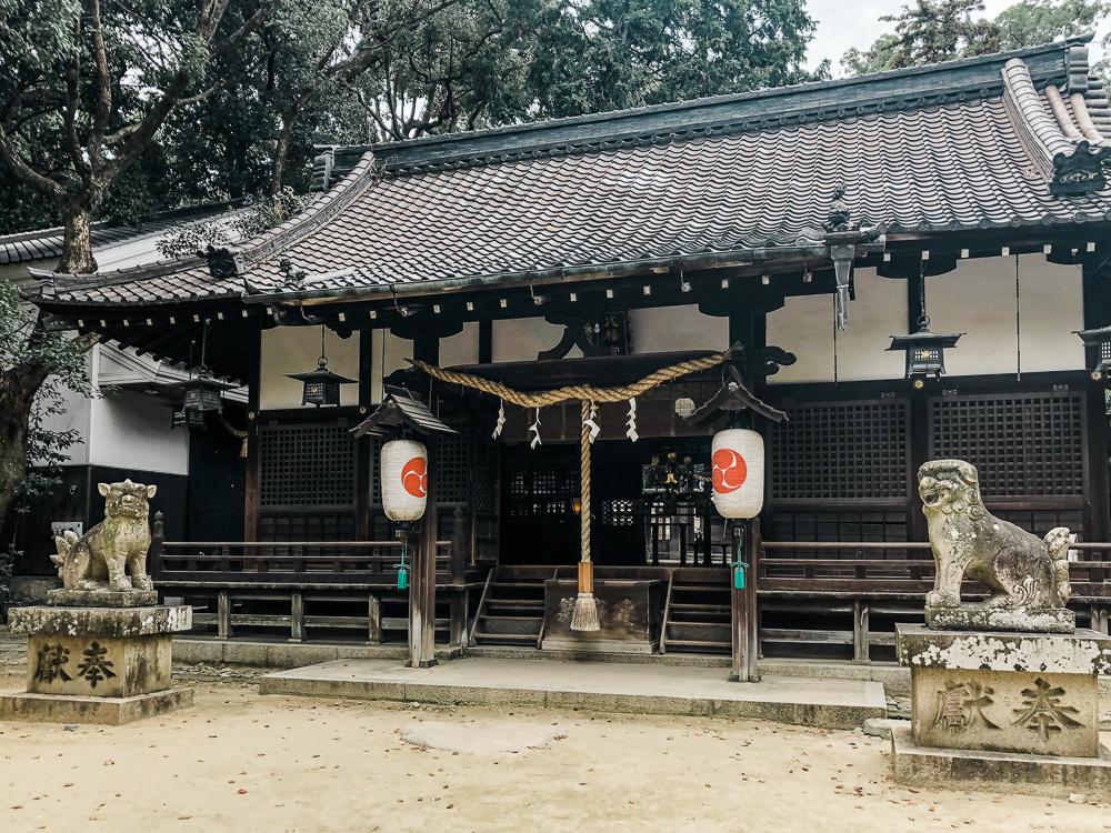 CulturallyOurs Sachiko Eubanks Shrine in Japan for harmony