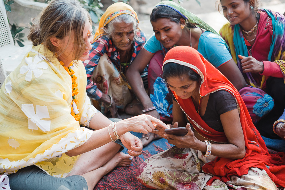 CulturallyOurs -creative travel retreat engaging with local tribal women in India