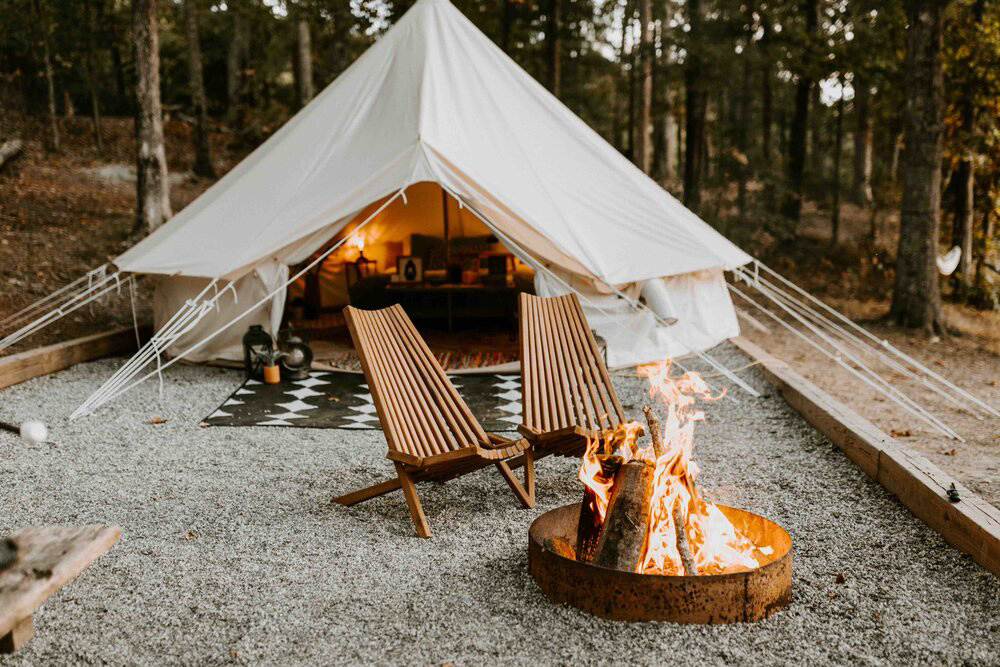 CulturallyOurs Luxury And Unique Glamping In The US - Gerogia Camping Company