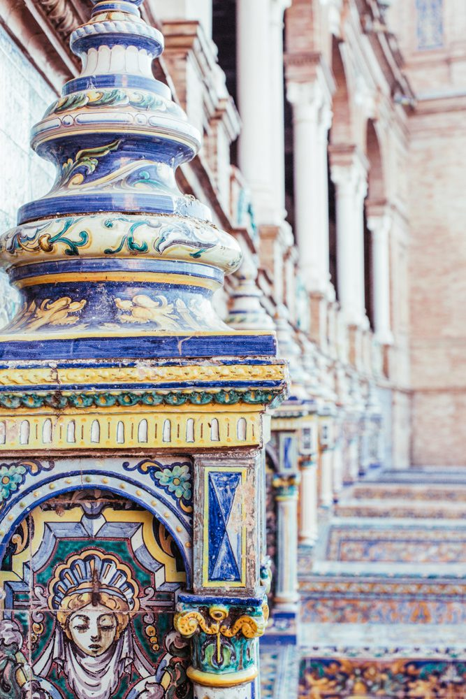 CulturallyOurs Travel Guide To Seville Spain Plaza Espana