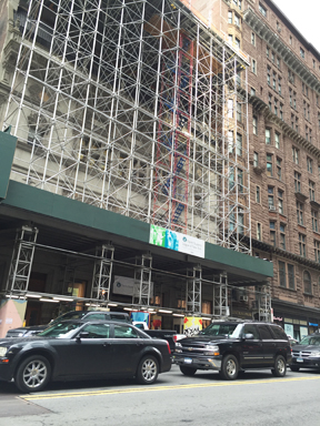 Construction at the Art Students League of New York