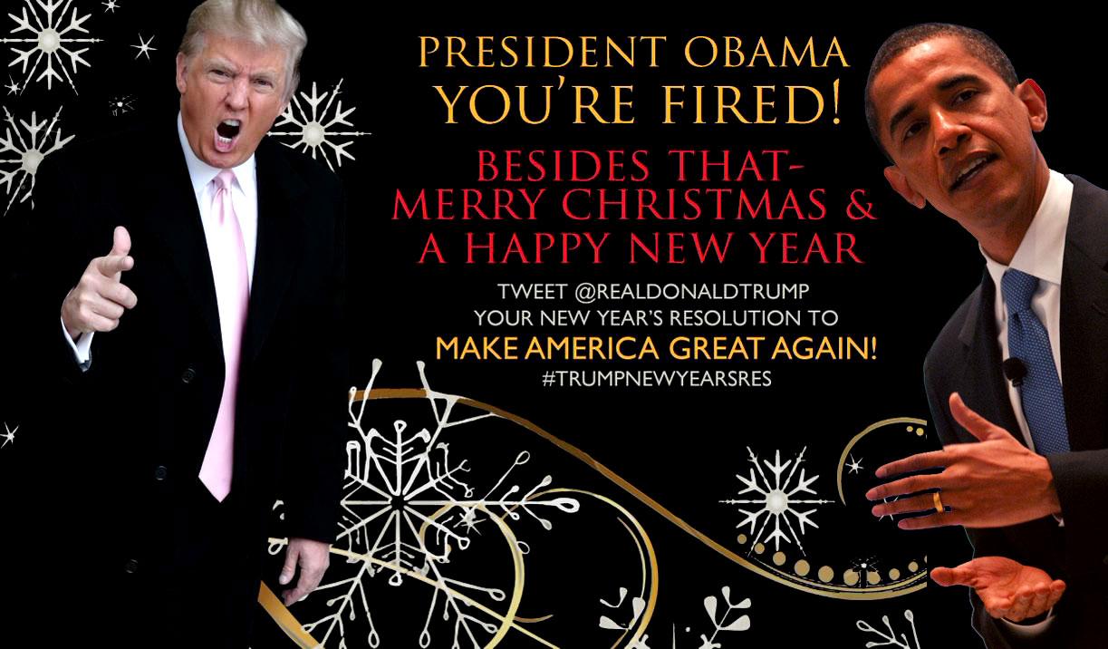 Donald Trumps Christmas Card To Obama Cultural Marxism