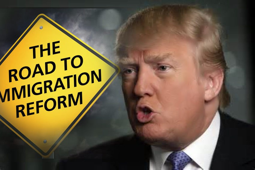 Image result for images of Donald trump and illegal aliens