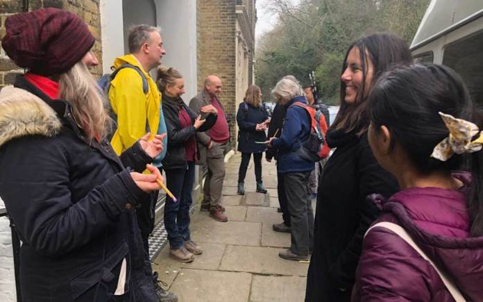 Charles Holland Explorers Walks Fort Burgoyne community engagement planning