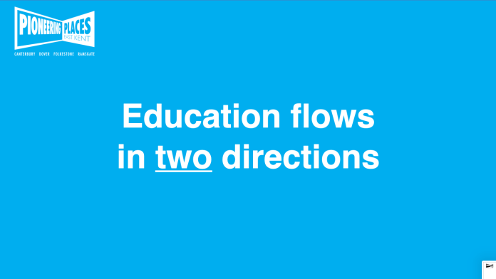 Education flows in both directions