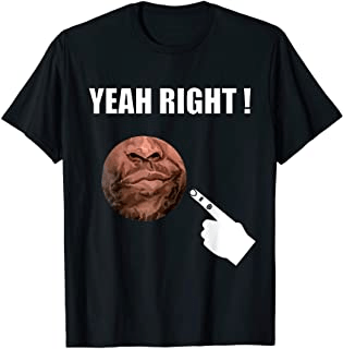 Yeah Right Graphic T-shirt design featuring the phrase yeah right with a finger pointing to a sarcastic face . Perfect gift for those who like funny t-shirts, humorous t-shirts, novelty t-shirts, sarcastic t-shirts men's and women's design.