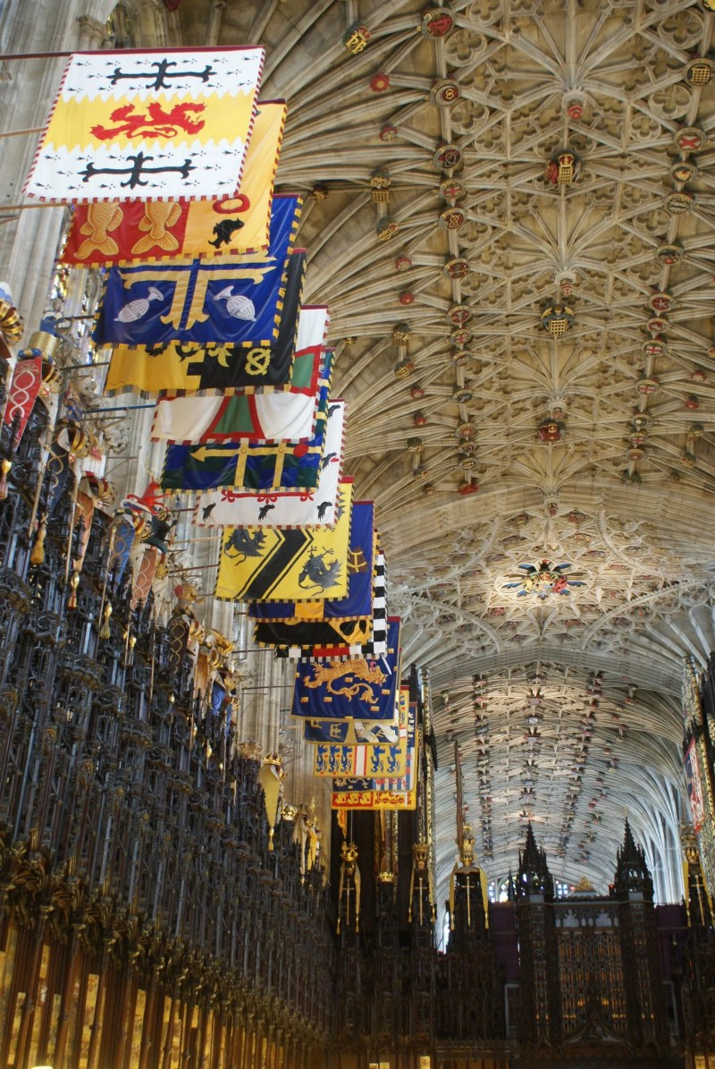 Quire St George's Chapel Windsor