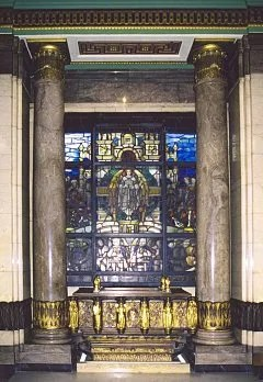 Freemasons Hall stained glass