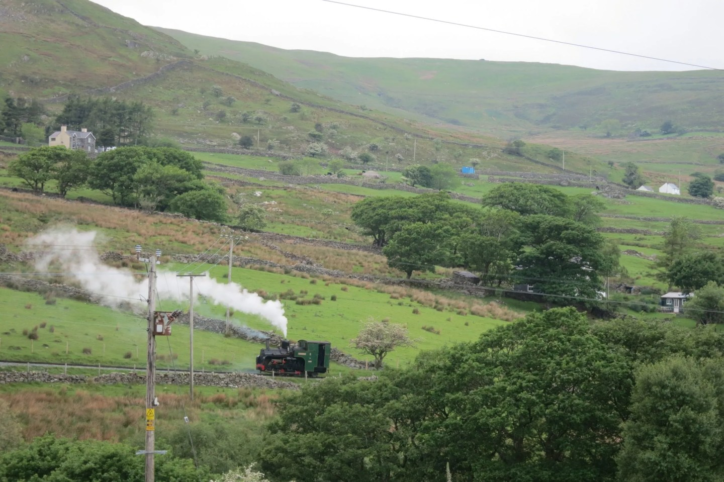 Snowdon - steam train