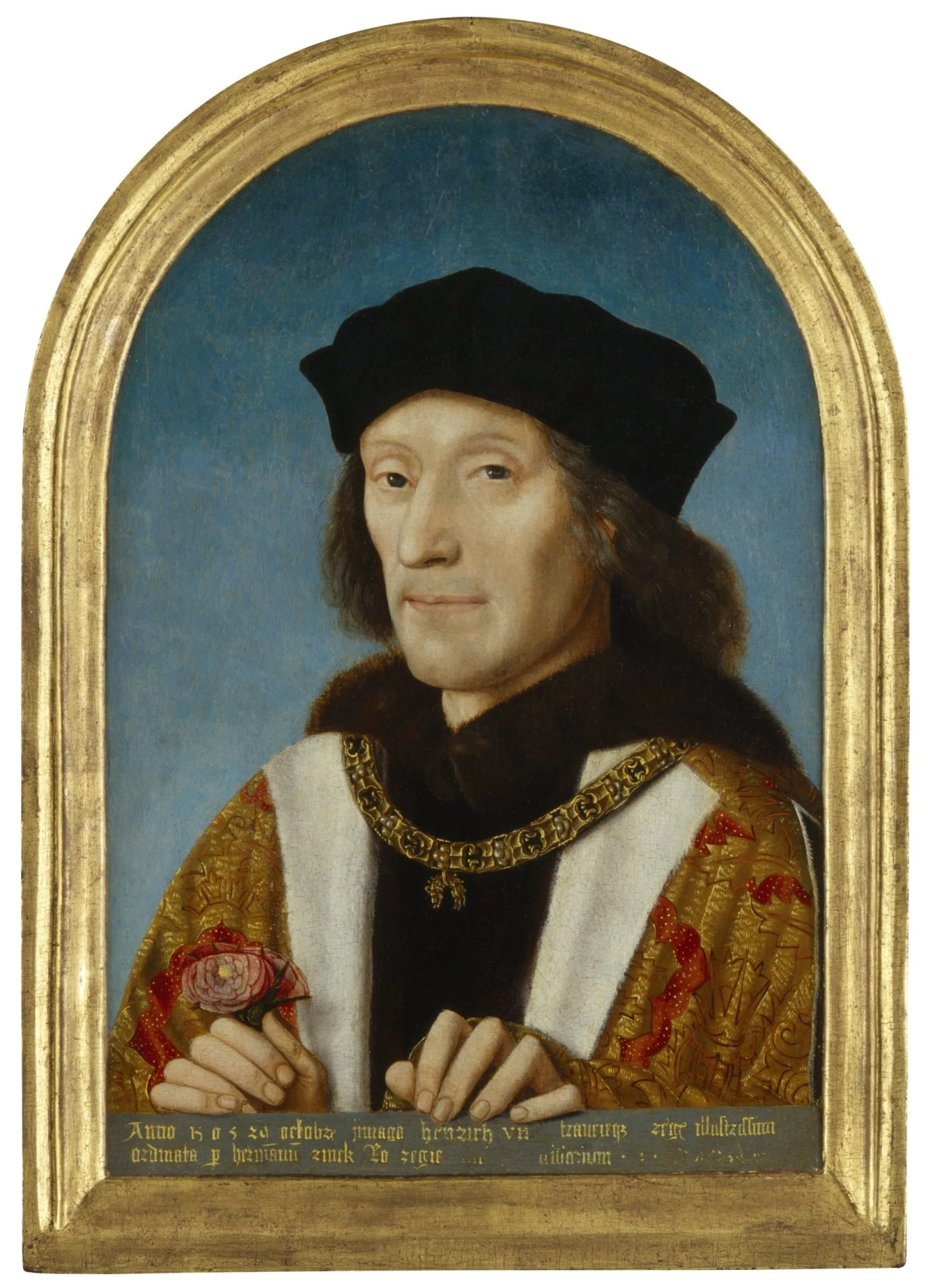 Henry VII National Portrait Gallery