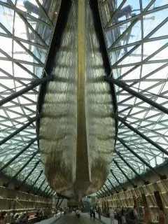 Cutty Sark copper hull