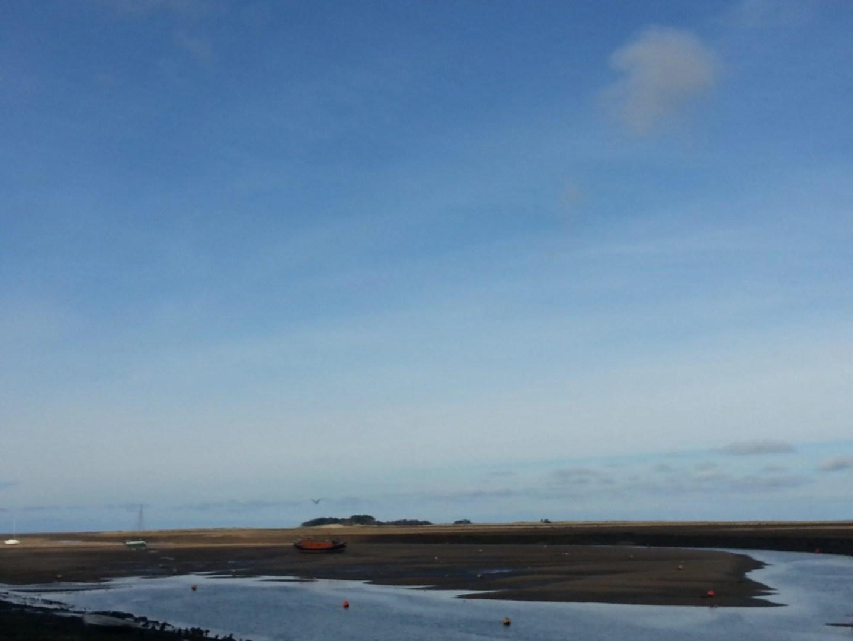 Wells-next-the-Sea sandbanks at low tide