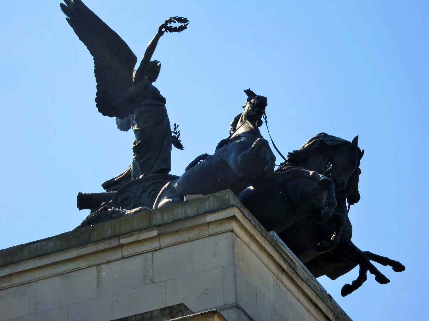 Angel of Peace, Wellington Arch