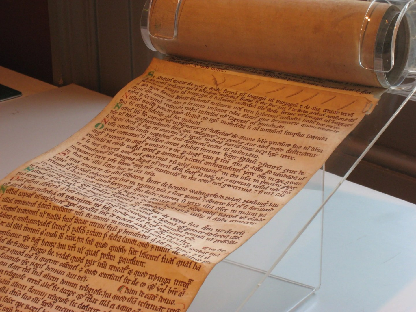Halesowen Scroll, Magna Carta