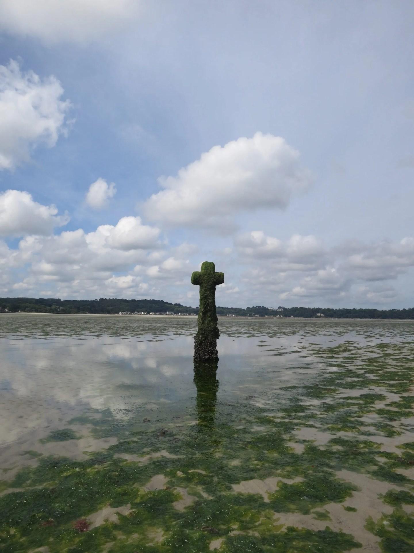 Croix de Mi-Lieue, St Michel En Greve, Breton Beach Cross