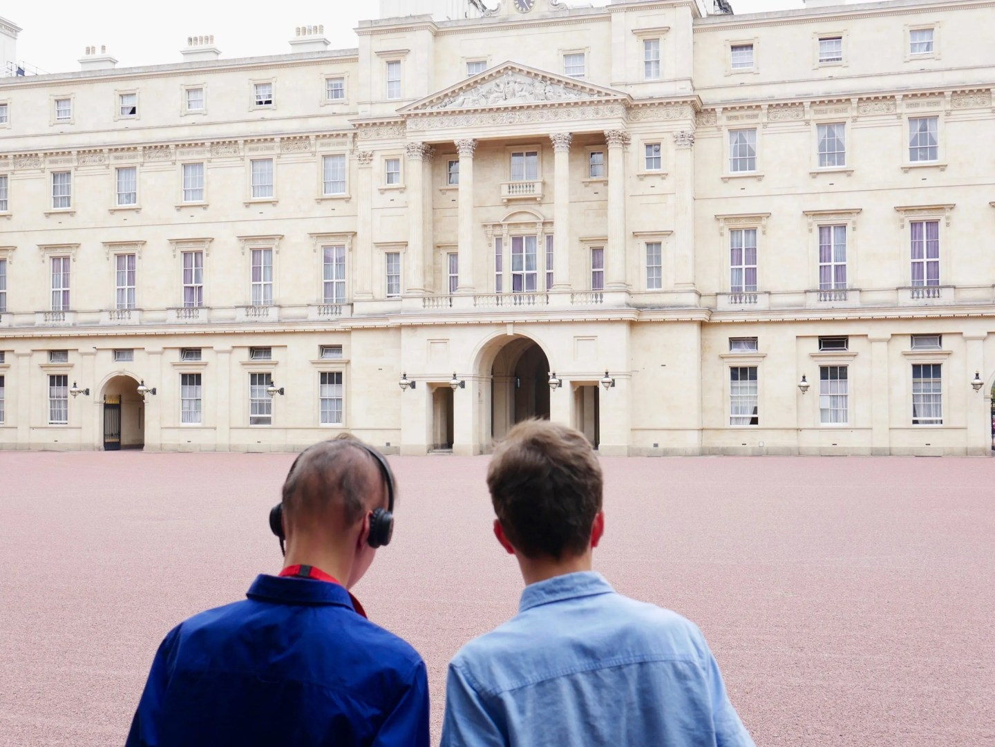 Buckingham Palace audio guide