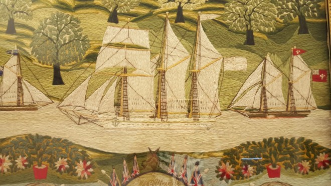 Needlework Ship