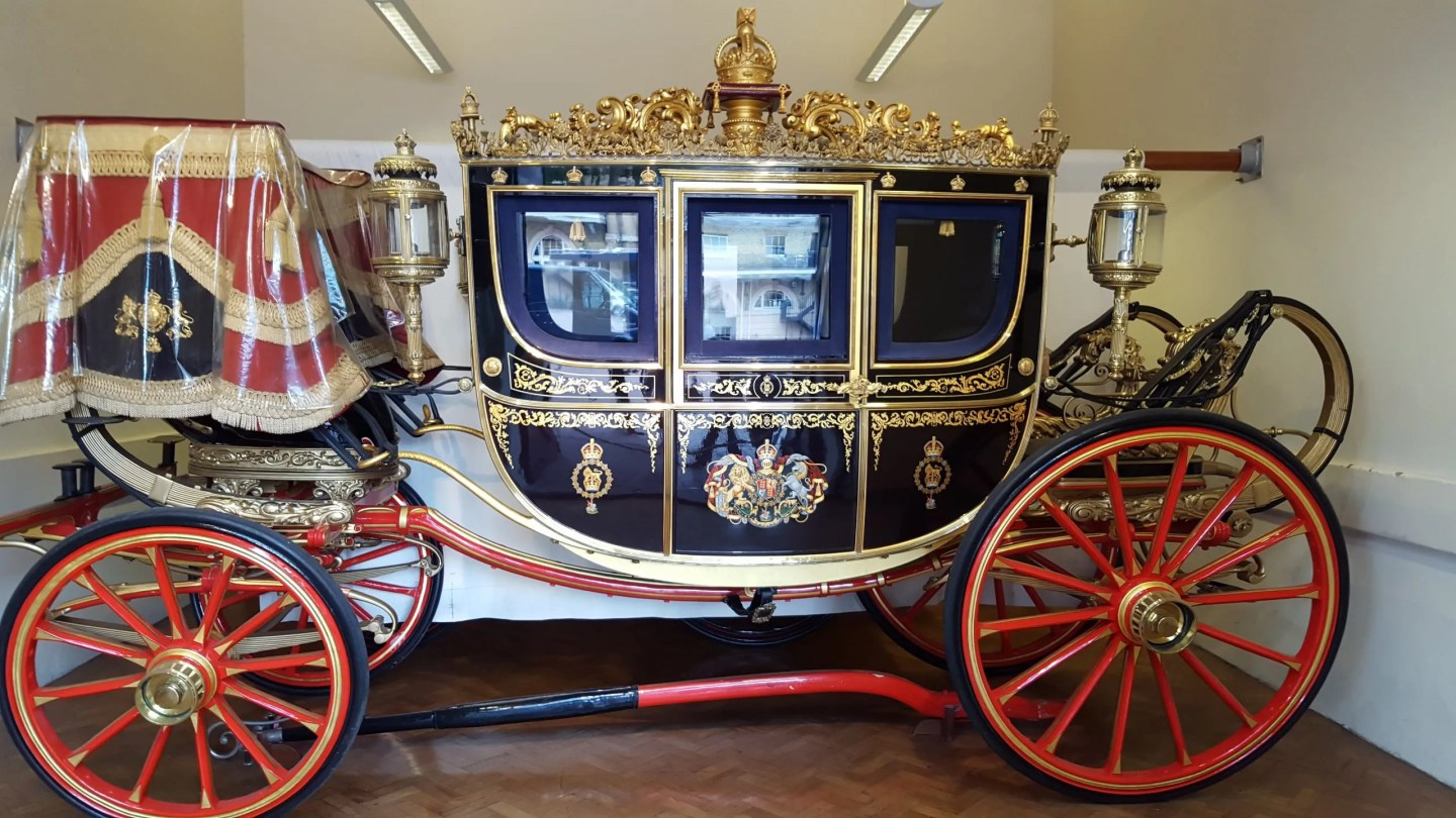 Irish State Coach Royal Mews