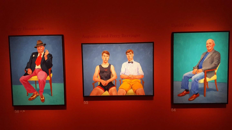 Barringer brothers, David Hockney
