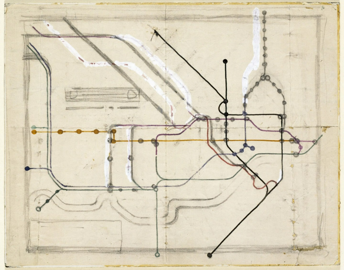 harry-beck-tube-map-sketch-victoria-albert-museum-tfl
