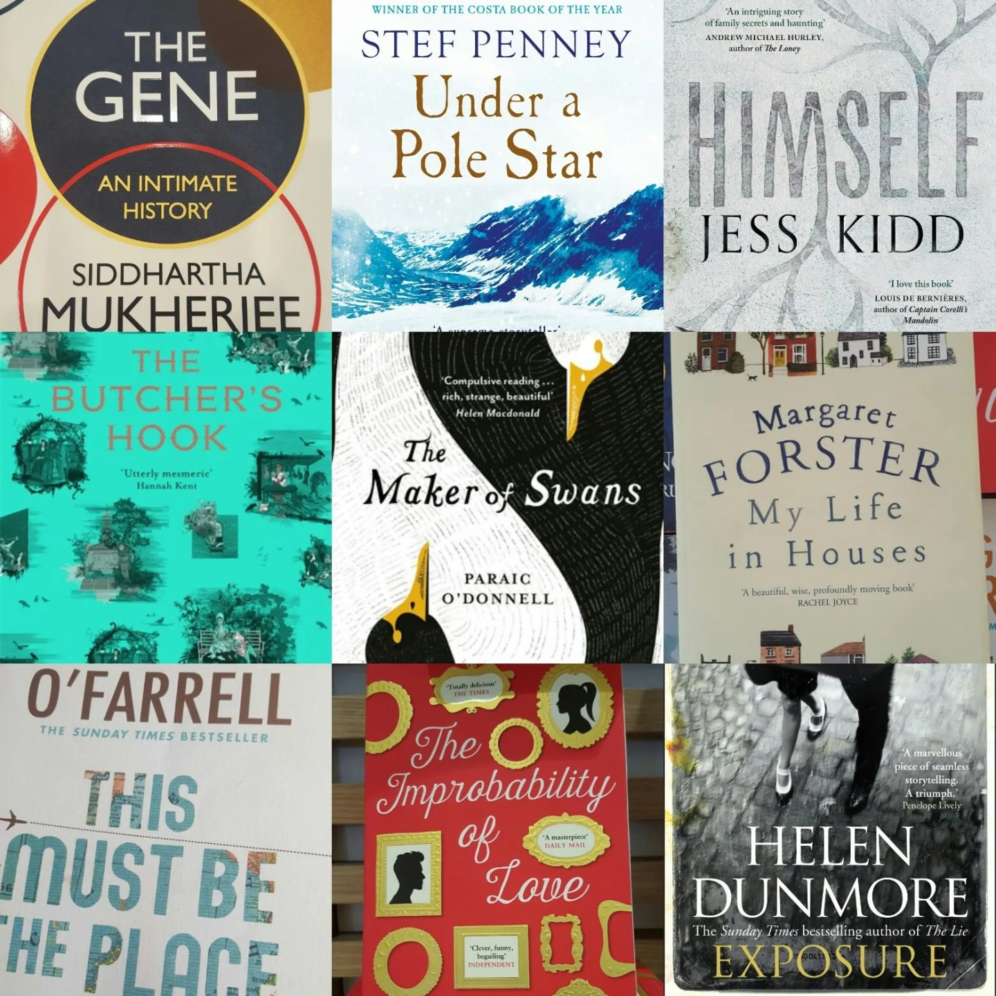 TOP TEN BOOKS 2016