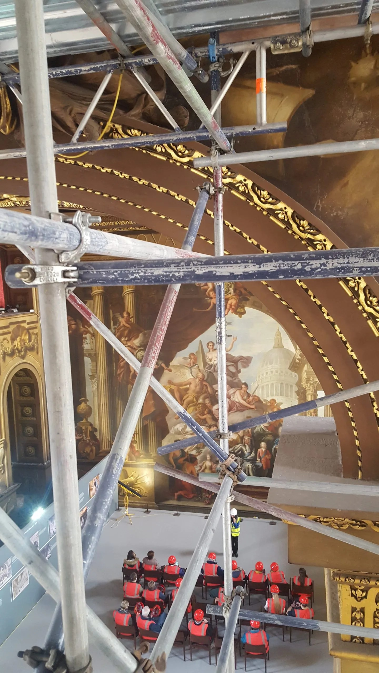 OLD ROYAL NAVAL COLLEGE PAINTED HALL CEILING TOUR