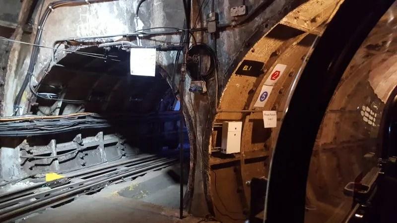 Mail Rail tunnel walk