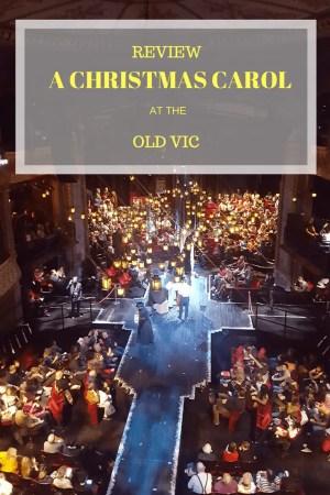 CHRISTMAS CAROL OLD VIC REVIEW