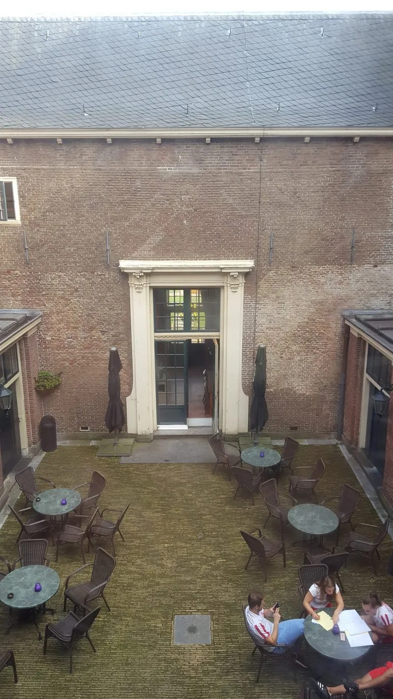 Heemskerk Castle Courtyard